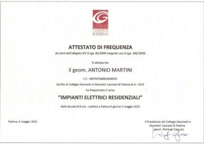 Progettazione Direzione Lavori_Impianti Elettrici_Geometra Padova